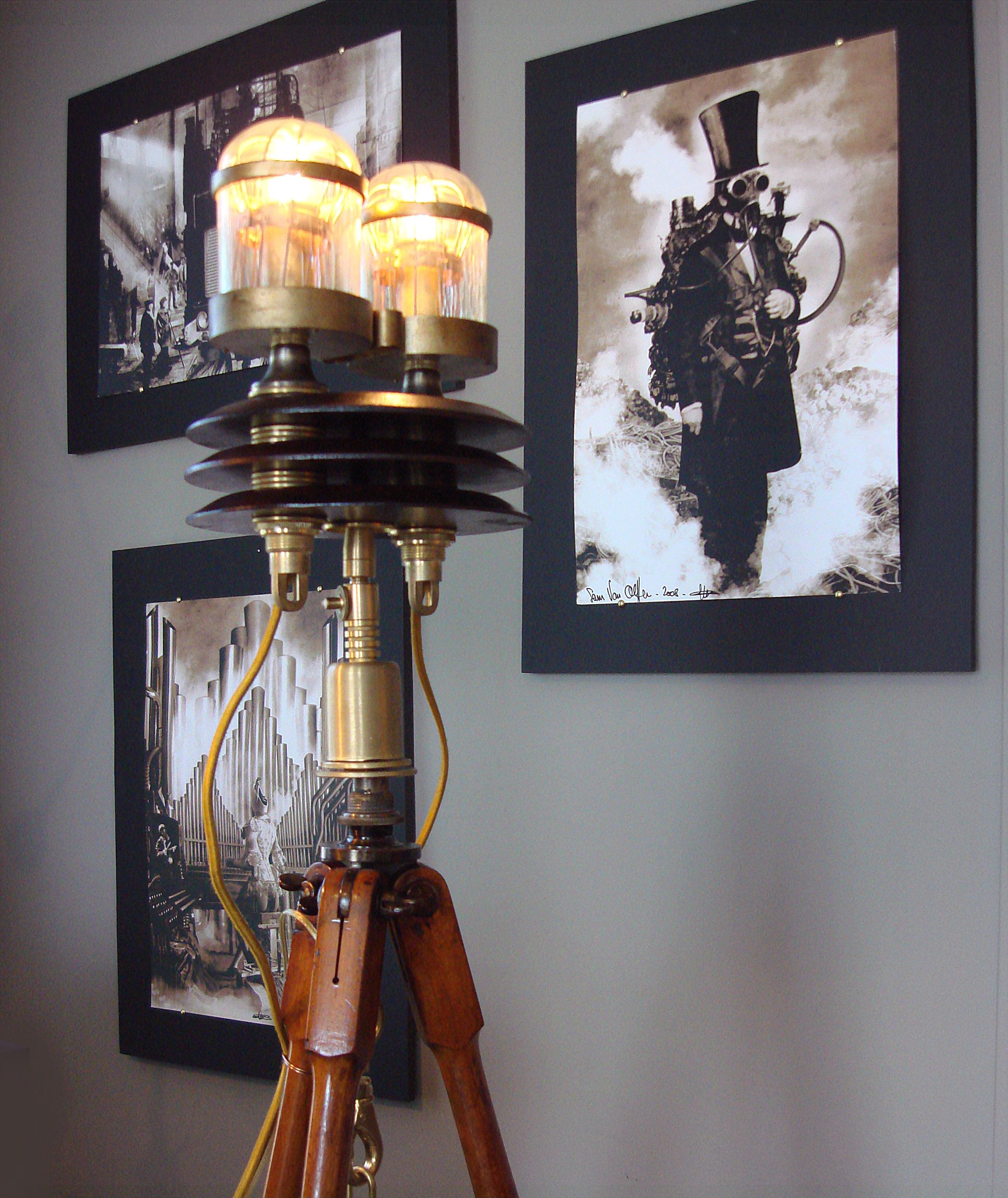 diy style lamp ideas steampunk rustic wooden lamps chic bare room home industrial bulb bookshelf carpet light depot living furniture dark floor