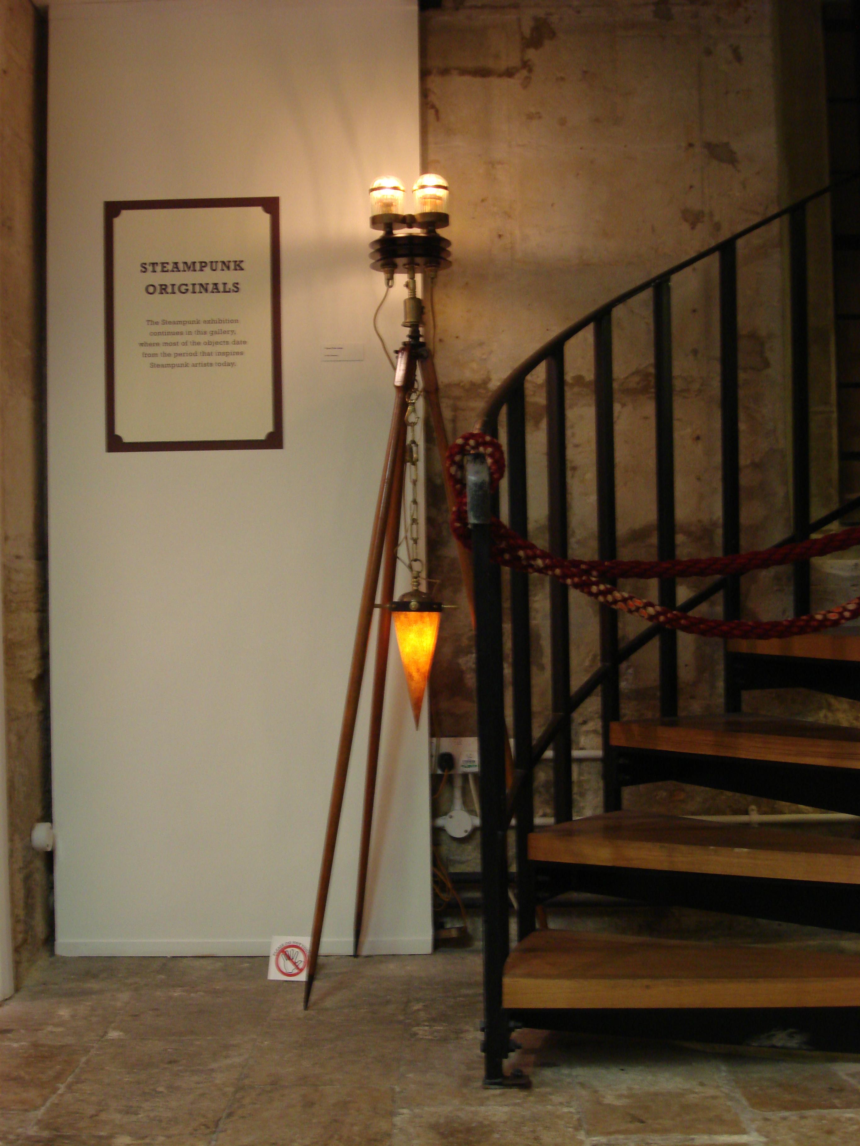 Steampunk Tripod Floor Lamp + Sam Van Olffen\'s Magnificent ...