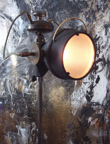Art Donovan- Steampunk Floor Lamp