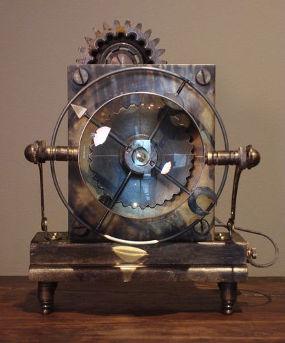 Art Donovan-Steampunk Clock