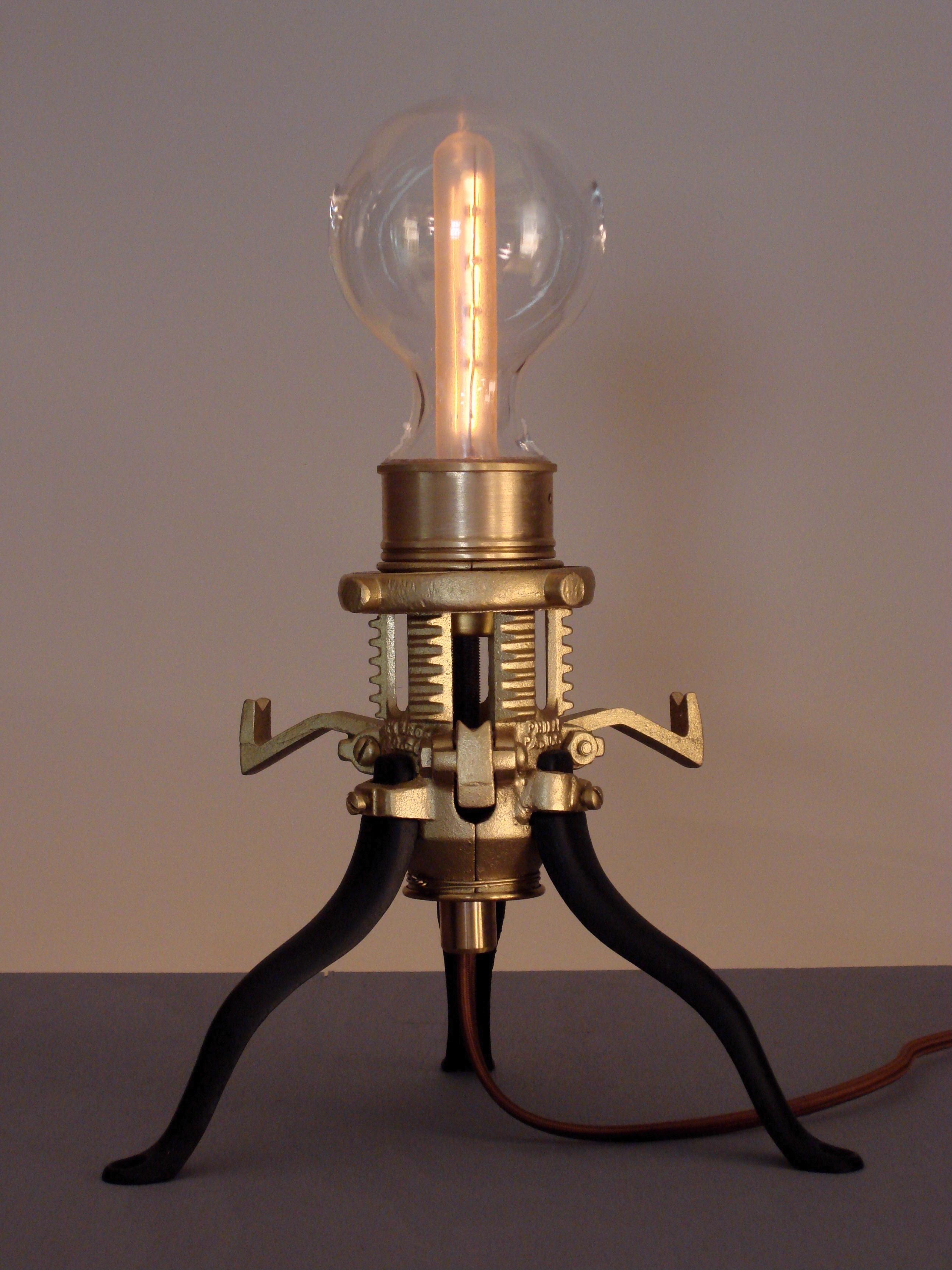 steampunk lighting. Art Donovan- Mr. Peanutski Steampunk Lighting