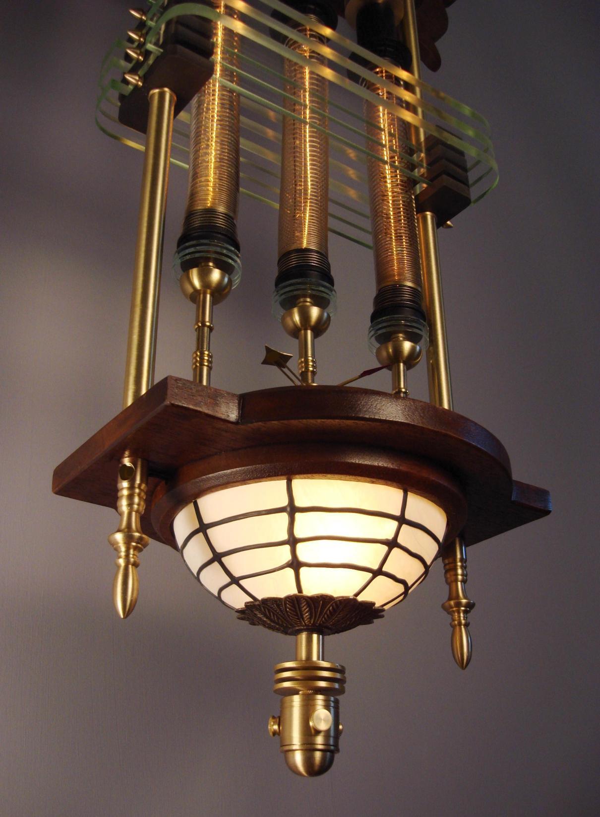 "Siddharta Pod"" Steampunk Lantern Art Donovan Extraordinary"