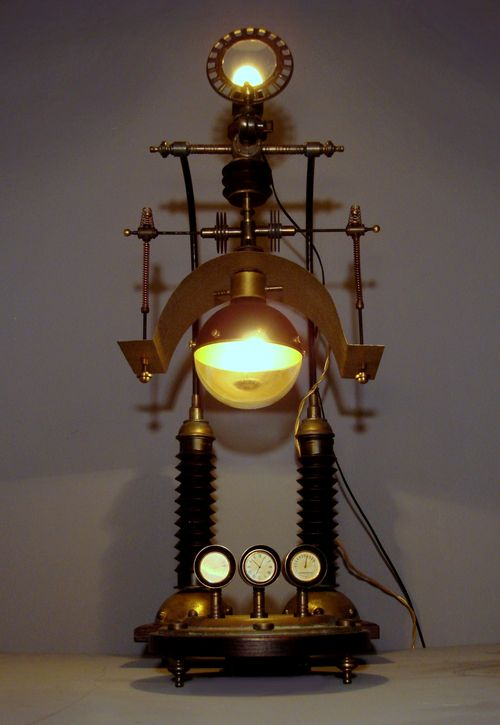Steampunk Weather Station Art Donovan Extraordinary