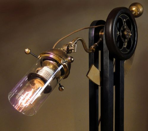 Side View of new lamp