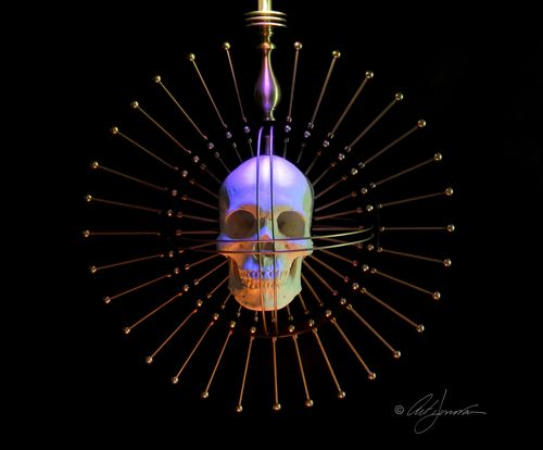 Steampunk Craniometer- Art Donovan