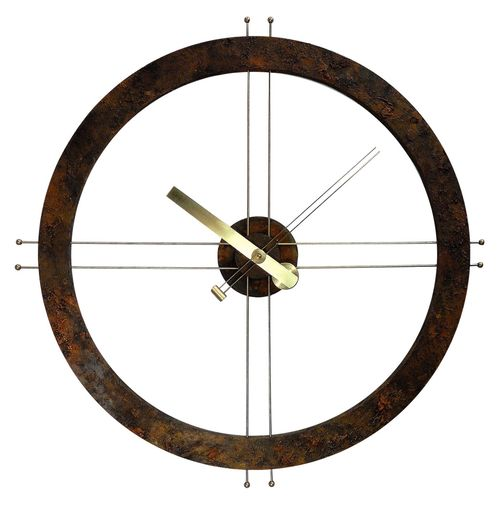 Steampunk Rust Clock