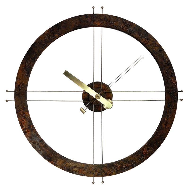 Steampunk Rust Clock
