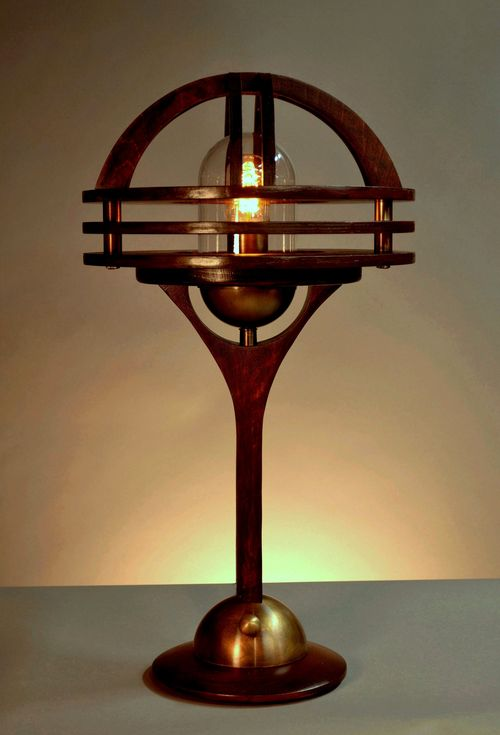 Sage Marine Table Lamp-Front View