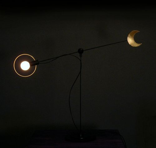 Sun and moon lamp-Dark Range
