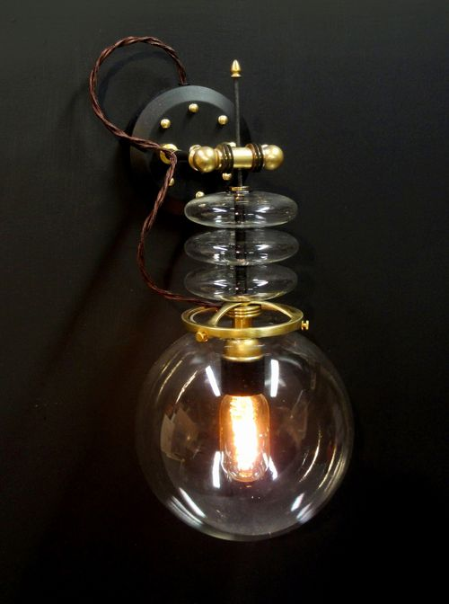 Tesla Wall lamp- front view