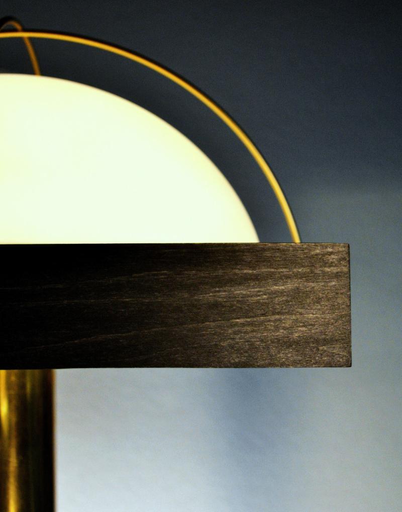 Orton Salon Lamp- Close Up